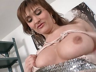Sex insane milfs strip and stroke stunning bodies spiced up with juicy jugs