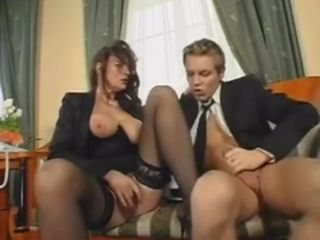 Outstanding Office fuck-a-thon With Mature damsel