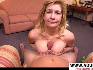 Grandma boob job point of view