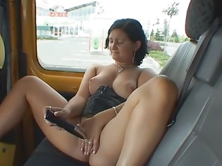 mature slut fucked outdoors