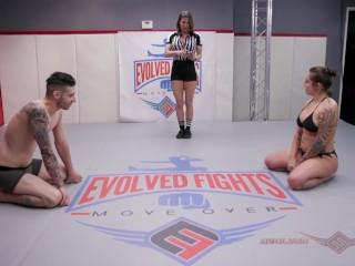 Spectacular Latina wrestler Tori Avano takes on hapless Billy Boston