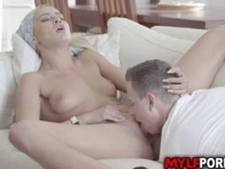 Sizzling cougar virgin smooch is mean to her fresh subjugated Nikki Nutz so he complies hello stasty hefty fuck-stick get her facehole shut and loved