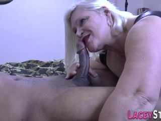 Grannie pensioner drilled - multiracial fuck-fest