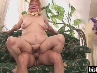 Large grannie rails youthful chisel