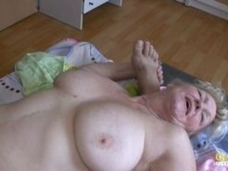 Gonzo 3some activity with oral and immense mature knockers in main role Find total length flicks on our network Oldnanny.com