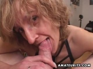 Mother unexperienced orgy wifey gives head with finish off