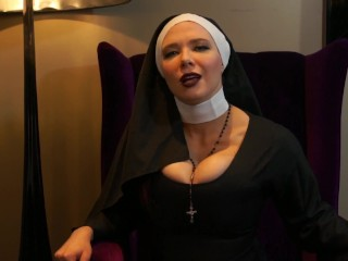 Aggressive Nun abases Your lil rod SPH