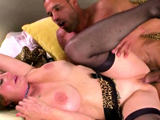 Large arse GILF in xxx escapade