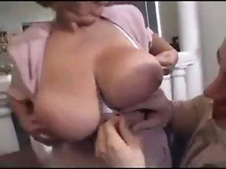 Granny BBW Ildiko Fucks Younger Guy