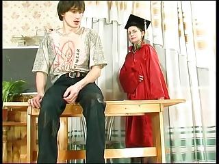 hot mature teacher and boy