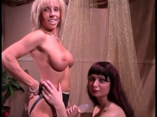 Fucking Maria with my Strap-On...Her First Time with a Woman!