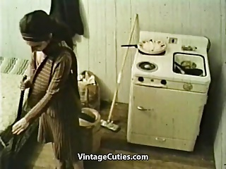 Husband Returned to Fuck His Boring Wife (1970s Vintage)